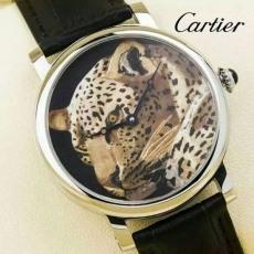 254卡地亚B092098506J50 机械男表 动物世界 金豹 白虎