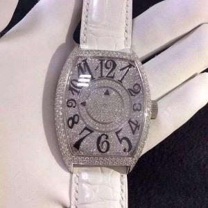 041法兰克穆勒B34609900006 瑞士机械 18k真金真钻 私人订制真金真钻手表