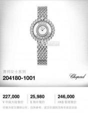 021萧邦B1324814991011 钢带 石英女表