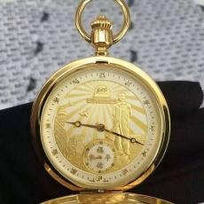 002唐龙B346680926006 机械怀表 陀表 24K包金真金真钻手表