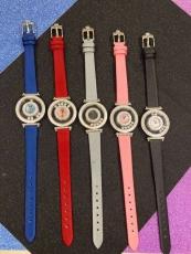 091萧邦 happy sport 系列 B1327910008J50  皮带 石英女表