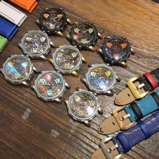 001MAXLAB变色龙 航海家系列 B38355916008 皮带 机械男表