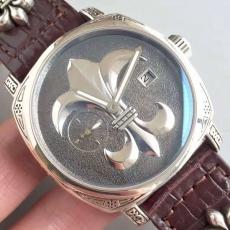 002克罗心B42982928003 皮带 机械男表 925纯银