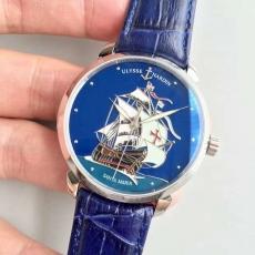 033雅典.限量版腕表系列B131425915507 皮带 机械男表