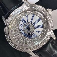 074爱彼AP.真钻真钻.中东土豪订制版B346193500008 皮带 机械男表真金真钻手表