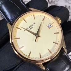 341百达翡丽.古典系列.包18k黄金B346741940008 皮带 机械男表真金真钻手表
