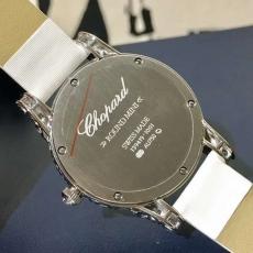 105萧邦.珠宝系列.18K包金B1324148912009 皮带 石英女表