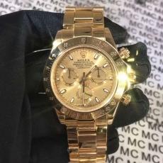 299劳力士.迪通拿.18k包金B346143947009 钢带 机械男表真金真钻手表