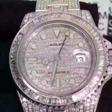 300劳力士.真金真钻.私人订制B3461459260009 钢带 机械男表真金真钻手表