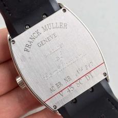 101法兰克穆勒 V45系列B131329190011J50 皮带 机械男表