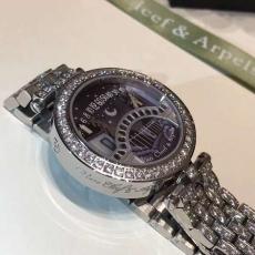 034梵克雅宝诗意复杂功能腕表系列B3824689120011 钢带 石英女表