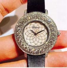 110萧邦.高级珠宝系列B3822598501J50 皮带 石英女表
