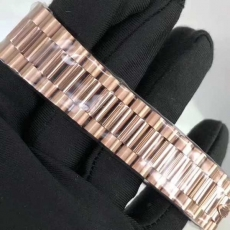 382劳力士.日志型系列.18K包金B346257947003 钢带 机械男表真金真钻手表