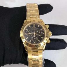 393劳力士.迪通拿.24k包金B346174949009 钢带 机械男表真金真钻手表