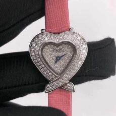 163伯爵.珠宝系列B346374958004 绢丝带 石英女表 真钻真金真钻手表