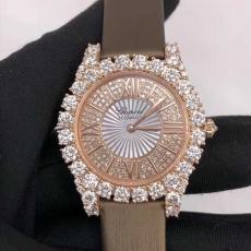 120萧邦.钻石手表系列.真金真钻B346749850005 皮带 机械女表
