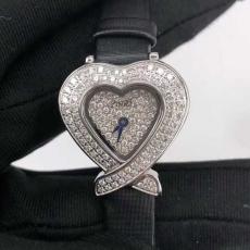 163伯爵.珠宝系列B346374958004 绢丝带 石英女表真金真钻手表