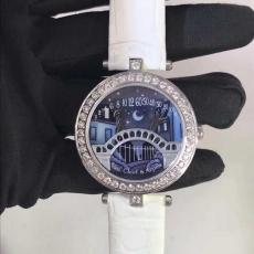 039梵克雅宝.诗意复杂系列.真金真钻B346319400005 皮带 石英女表真金真钻手表