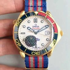 583欧米茄.英国皇家海军指挥官限量版B1312579180012 布带 机械男表 UR