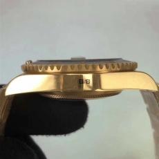 397劳力士.绿水鬼.24k包金B346258953001 钢带 机械男表真金真钻手表