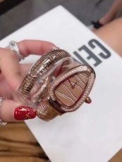 093宝格丽.Serpenti系列.蛇表B05265893505 钢带 石英女表