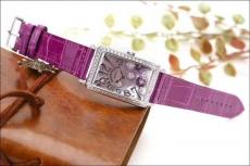 127法兰克穆勒.真钻.正品B346119750005 皮带 石英女表真金真钻手表