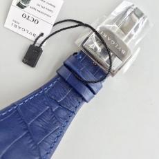 102宝格丽.OCTO系列B131745914507 橡胶带+皮带 机械男表