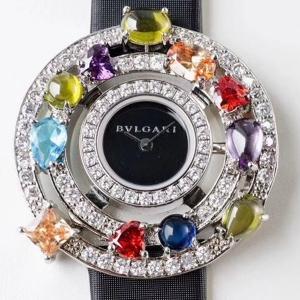 100宝格丽.astrale珠宝系列B132431898007 绢丝带 石英女表