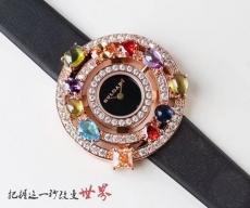 099宝格丽.astrale珠宝系列B132431898007 绢丝带 石英女表