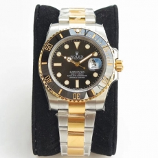450劳力士.潜航者型系列.18k金B131741934508 钢带 机械男表 VR真金真钻手表
