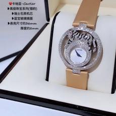 636卡地亚.高级珠宝系列B1327921008J100 皮带 石英女表
