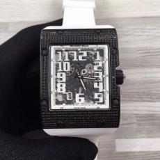 097理查德米勒.RM016方形系列B45981239145010 橡胶带 机械男表