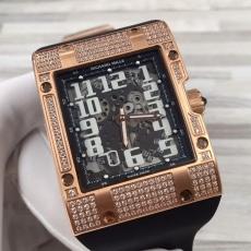 091理查德米勒.RM016方形系列B45981239145010  橡胶带 机械男表