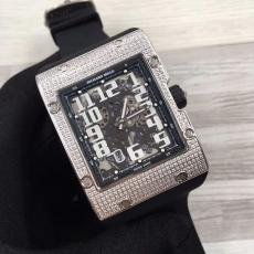 096理查德米勒.RM016方形系列B45981239145010 橡胶带 机械男表