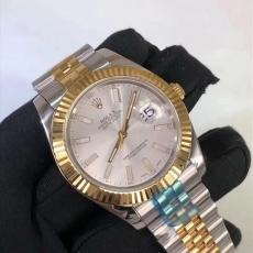 489劳力士.日志型系列.18K包金B3462749470011 钢带 机械男表真金真钻手表