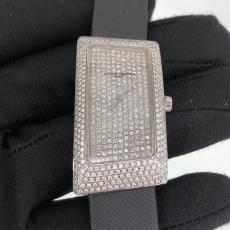672江诗丹顿.1972系列.18K真金真钻B3468249500006 绢丝带 石英女表真金真钻手表