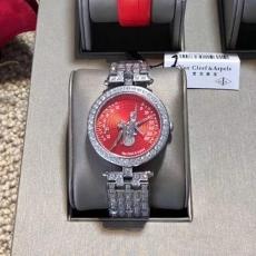 063梵克雅宝.诗意复杂功能腕表系列B28075532914501 钢带 石英女表